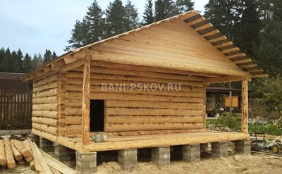 Русичи  строительство домов и бань из бруса