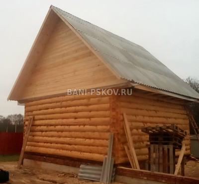 Крыша для бани 3 6 своими руками
